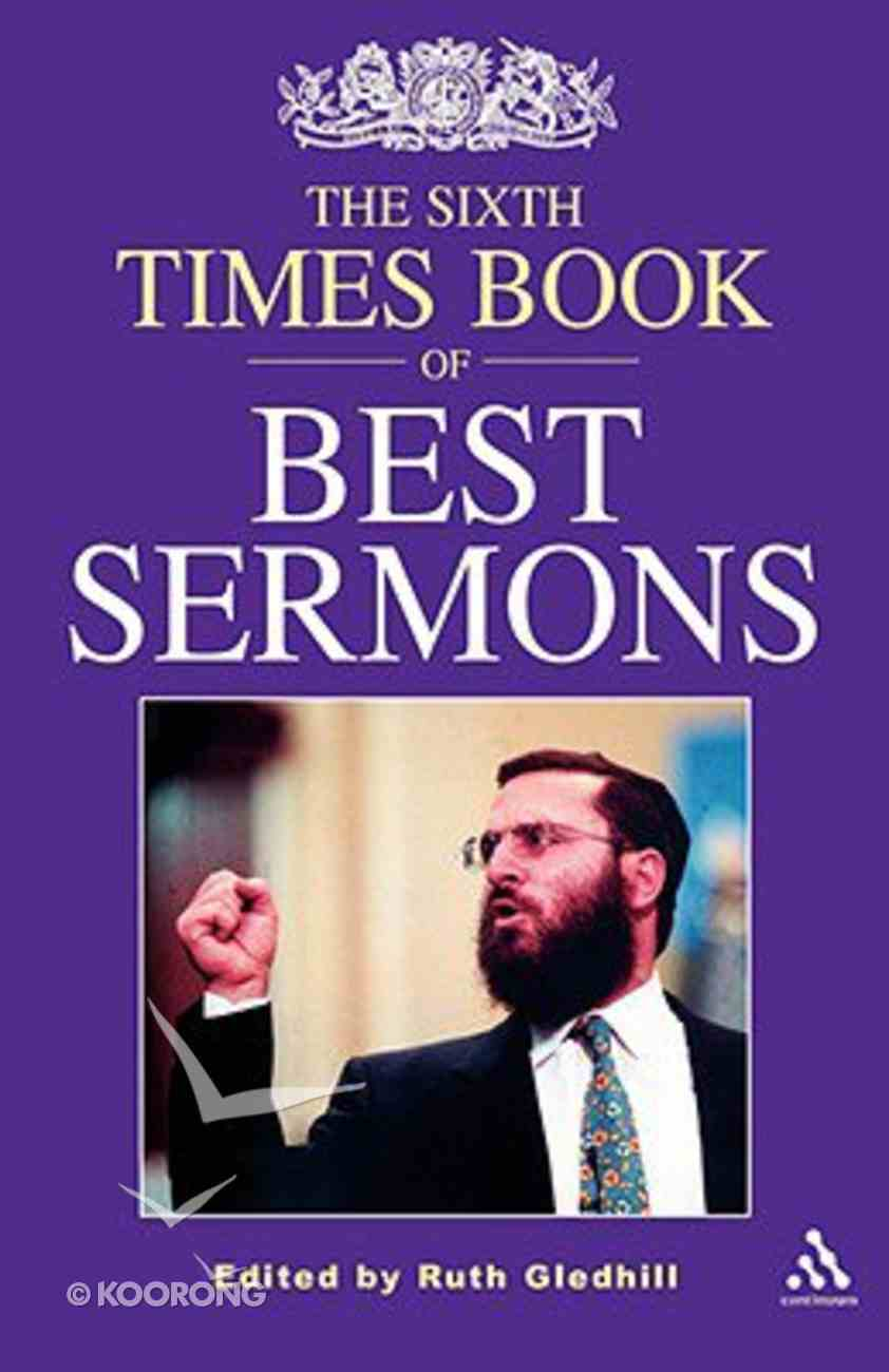 The Sixth Times Book of Best Sermons Paperback