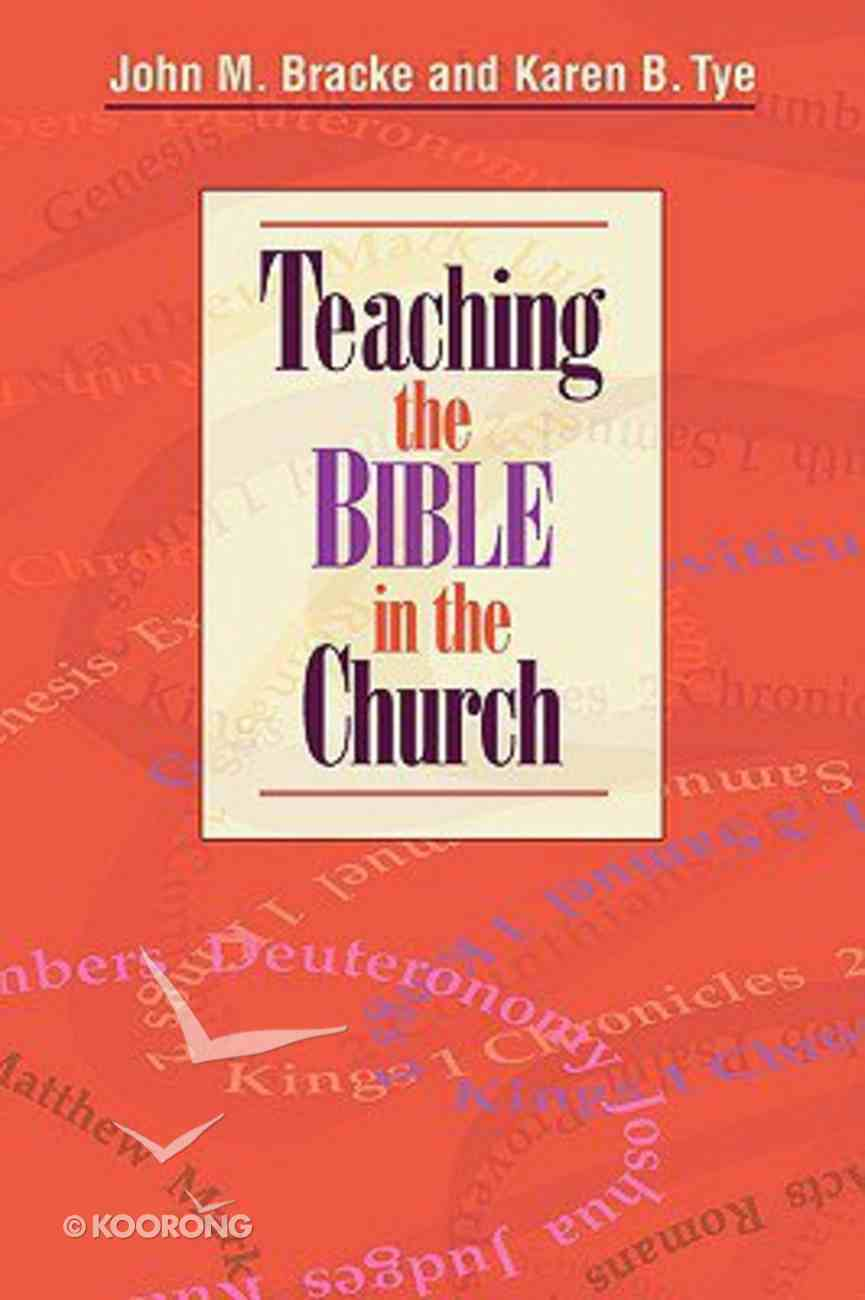 Teaching the Bible in Church Paperback