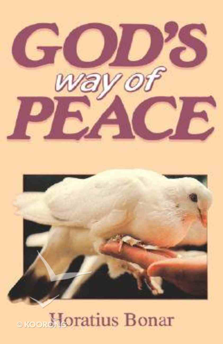 God's Way of Peace Paperback