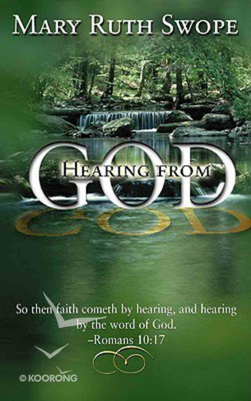 Hearing From God Paperback