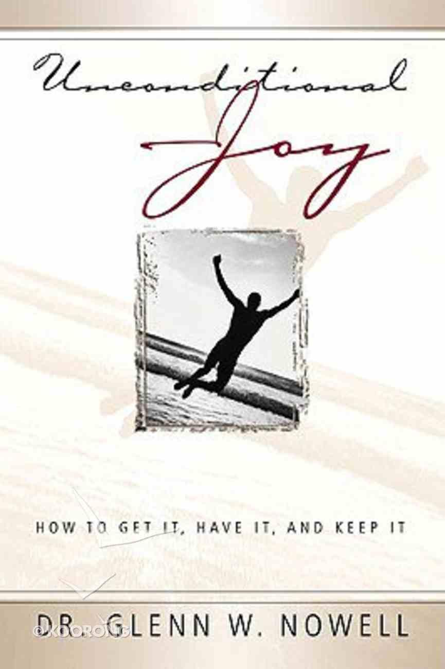 Unconditional Joy Paperback