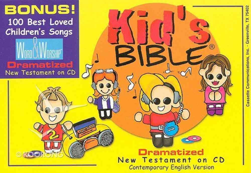 CEV Kid's Bible Dramatized New Testament Padded Zipper Case CD