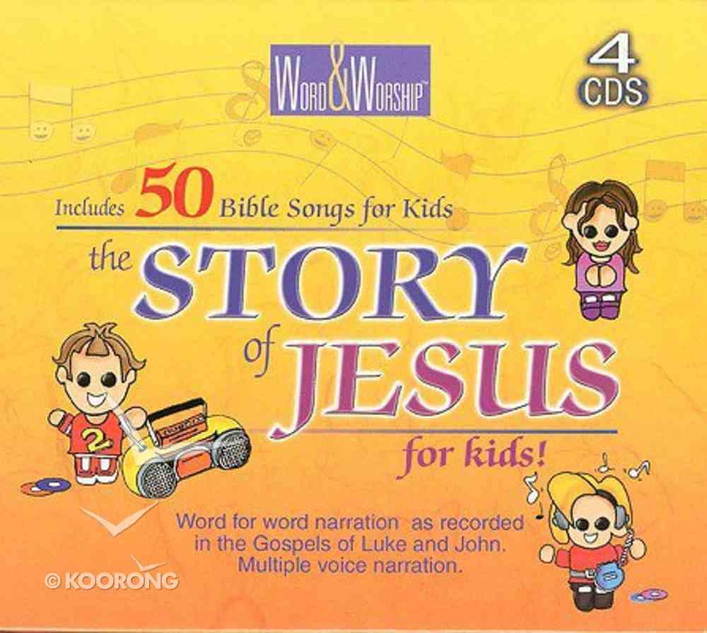 CEV Story of Jesus For Kids CD
