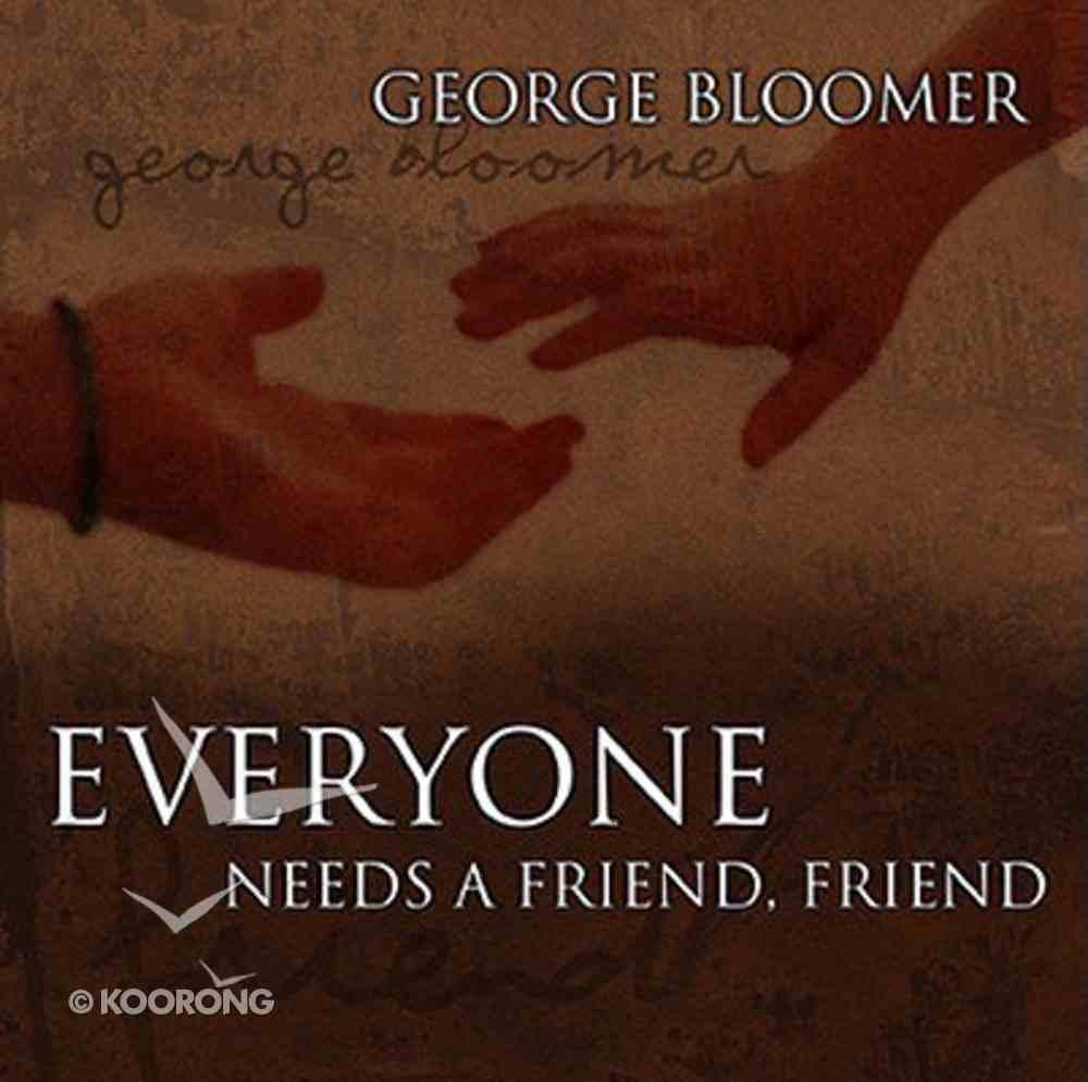 Sas: Everyone Needs a Friend, Friend (Spiritual Authority) CD