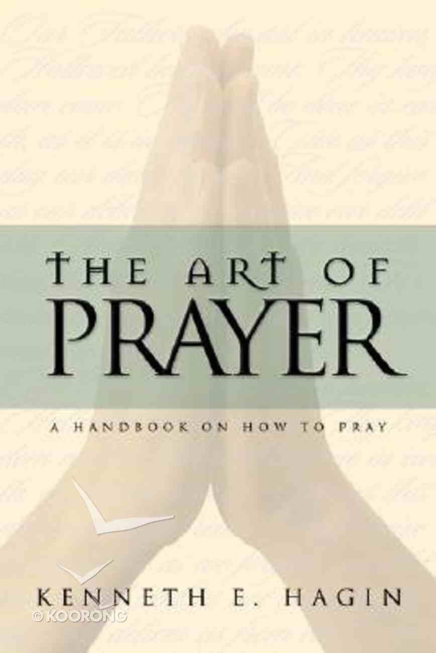 The Art of Prayer Paperback
