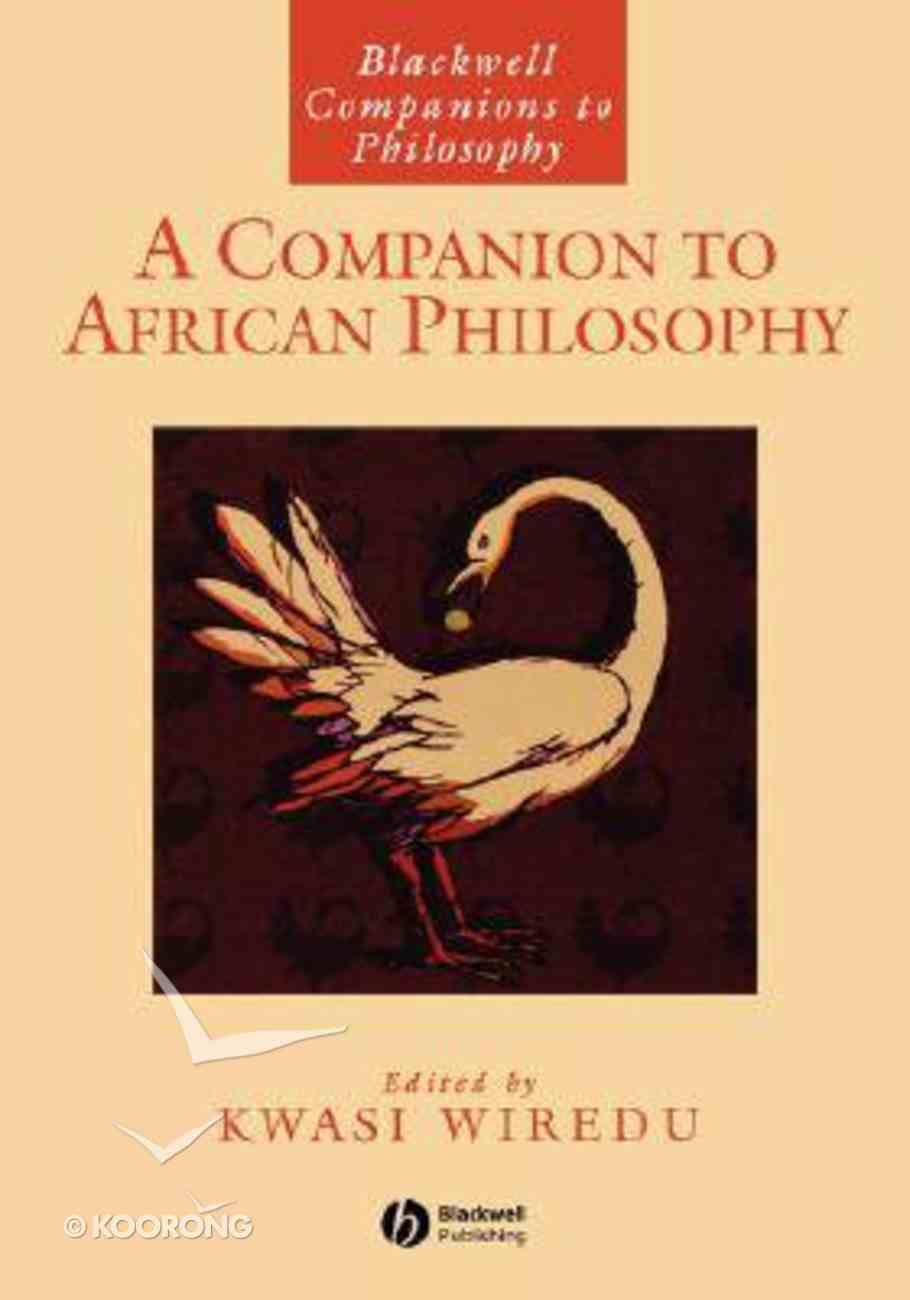 Bcp: A Companion to African Philosophy Paperback