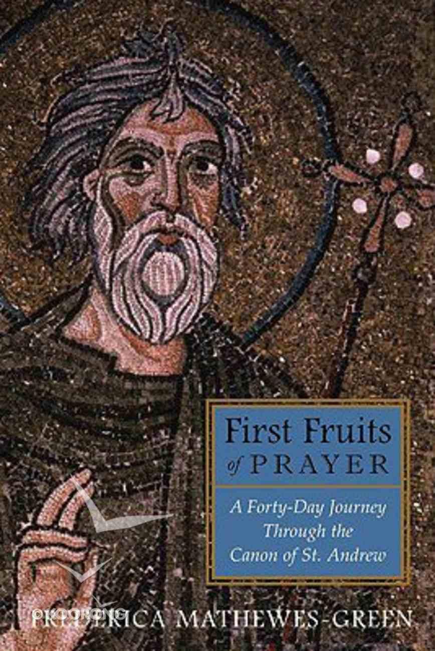 First Fruits of Prayer Hardback