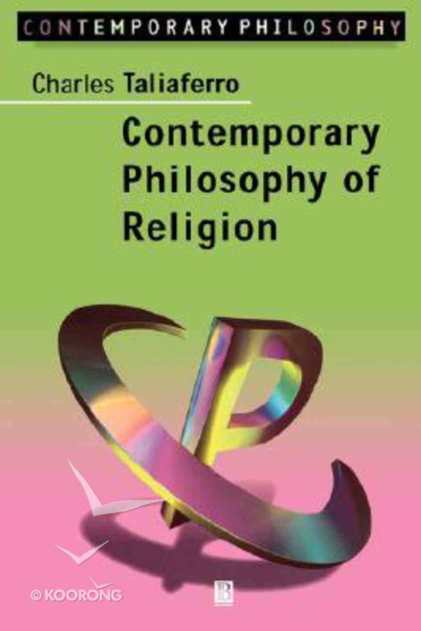 Contemporary Philosophy and Religion Paperback