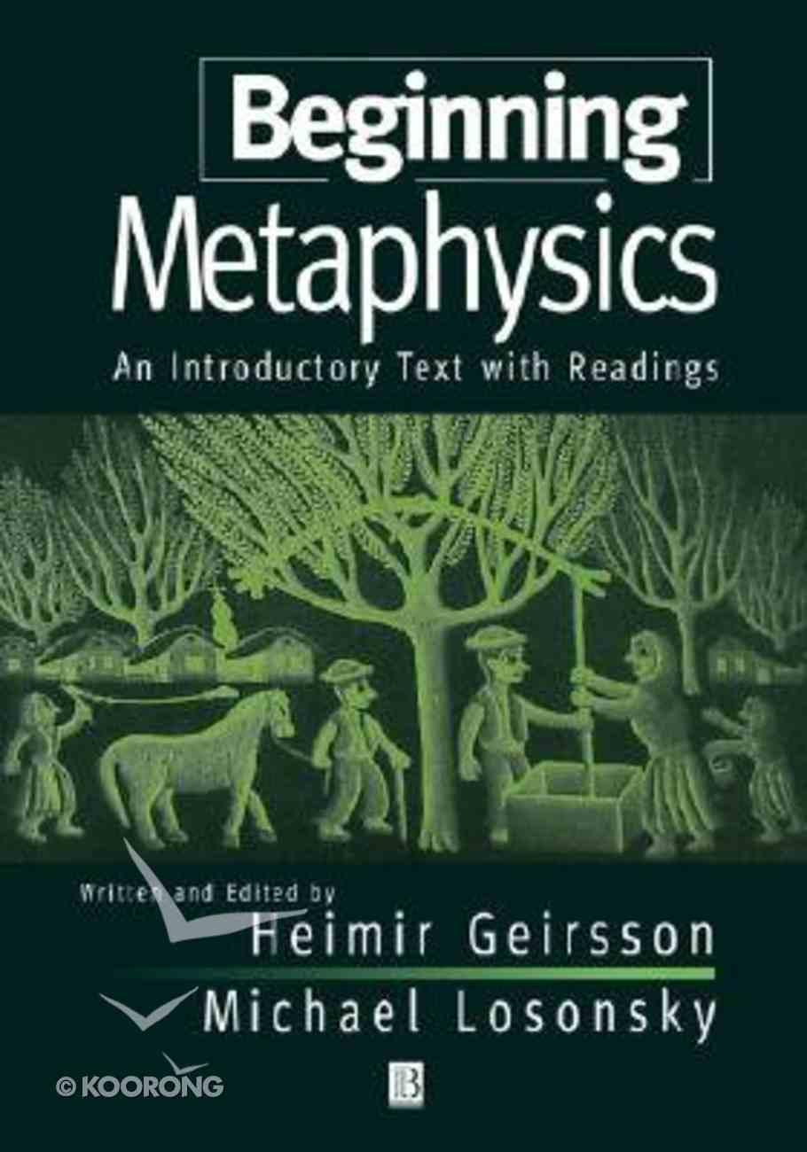 Beginning Metaphysics Paperback