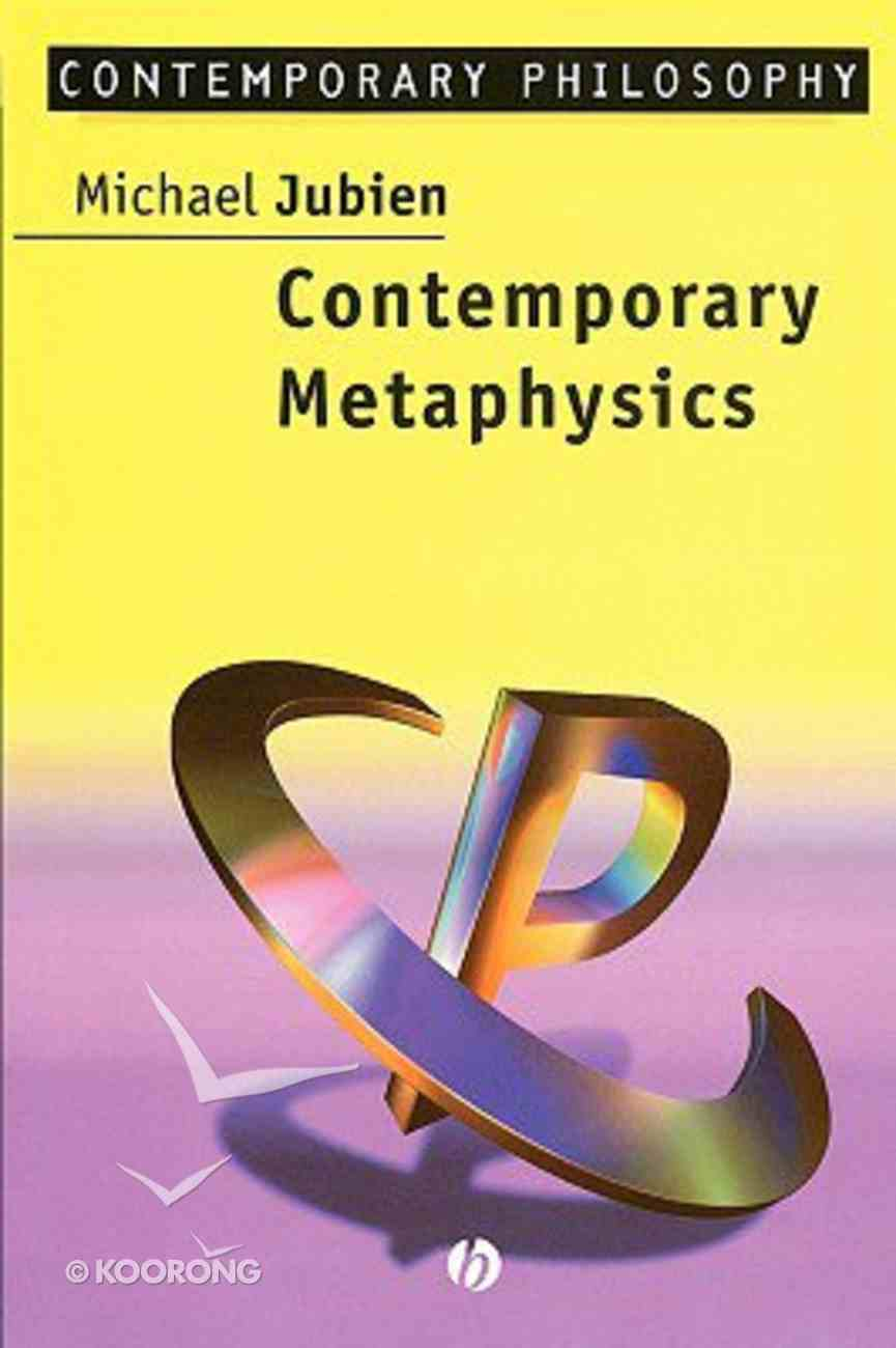 Contemporary Metaphysics Paperback