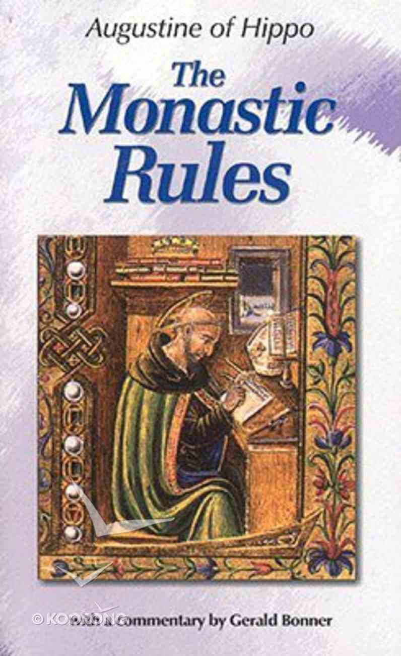 The Monastic Rules Paperback