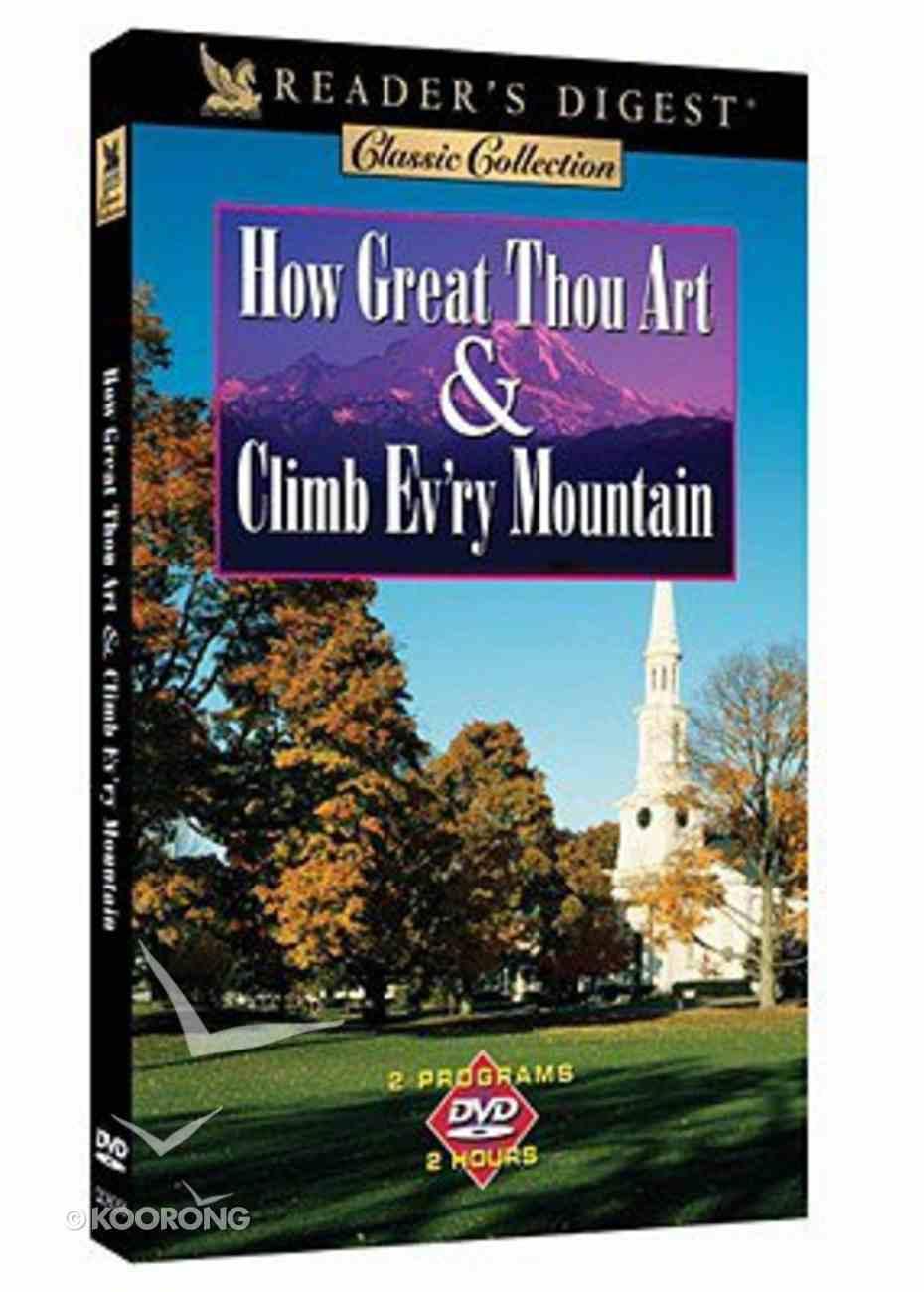 How Great Thou Art & Climb Every Mountain DVD
