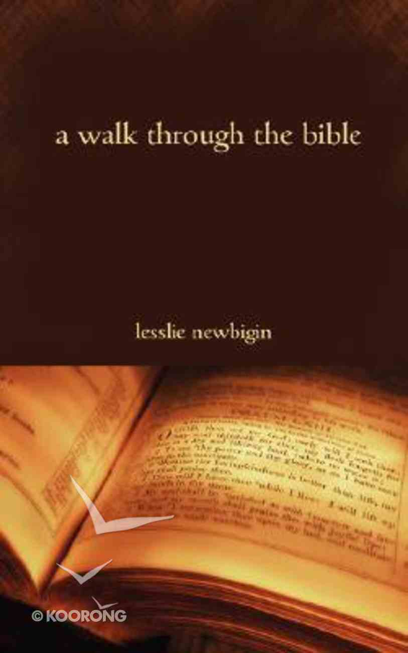 A Walk Through the Bible Paperback