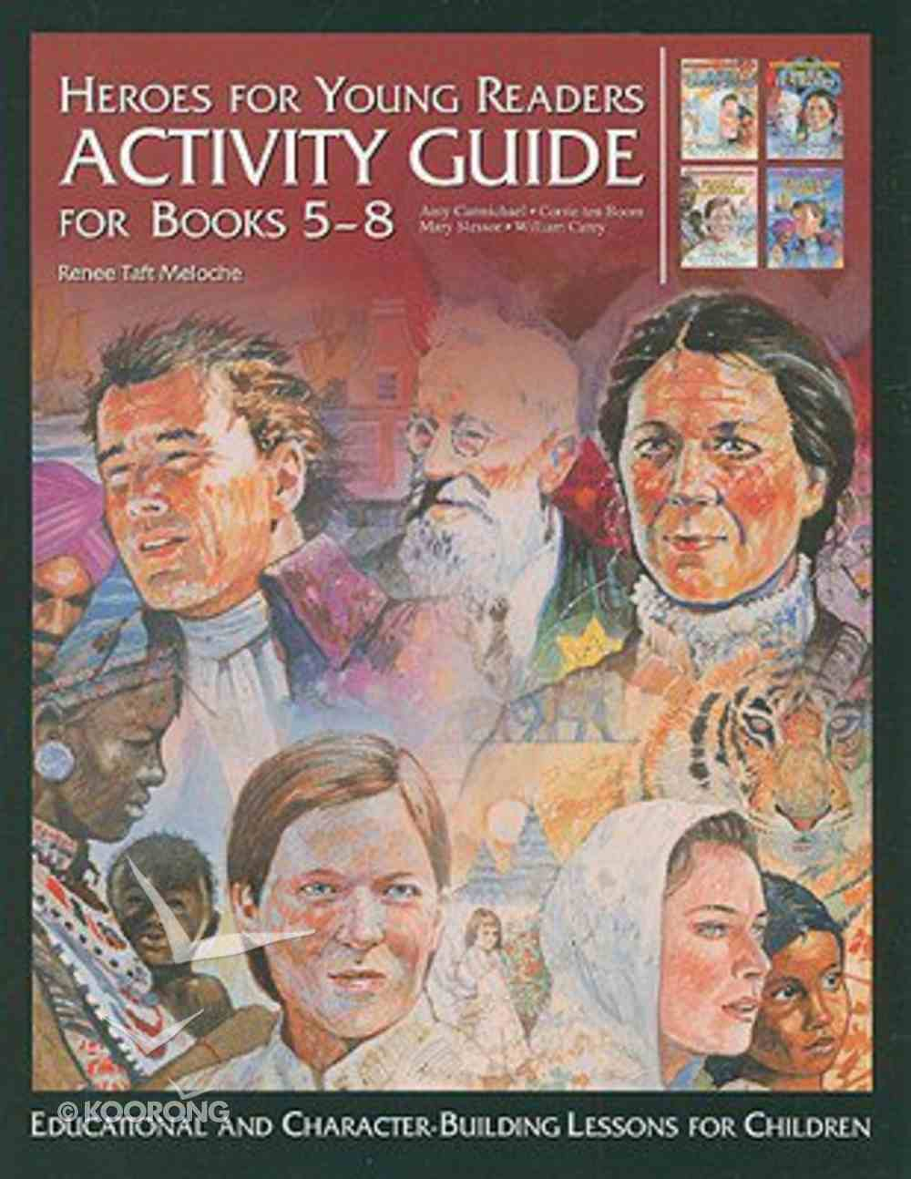 Activity Guide Books 5-8 (Heroes For Young Readers Series) Hardback