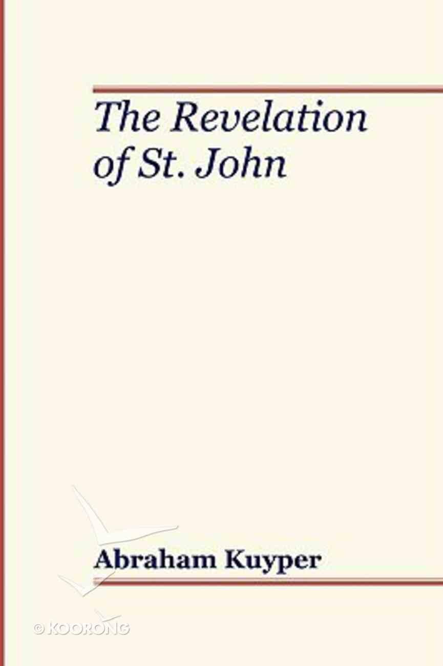 The Revelation of St John Paperback