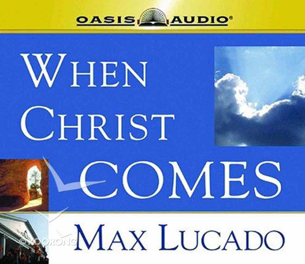 When Christ Comes CD