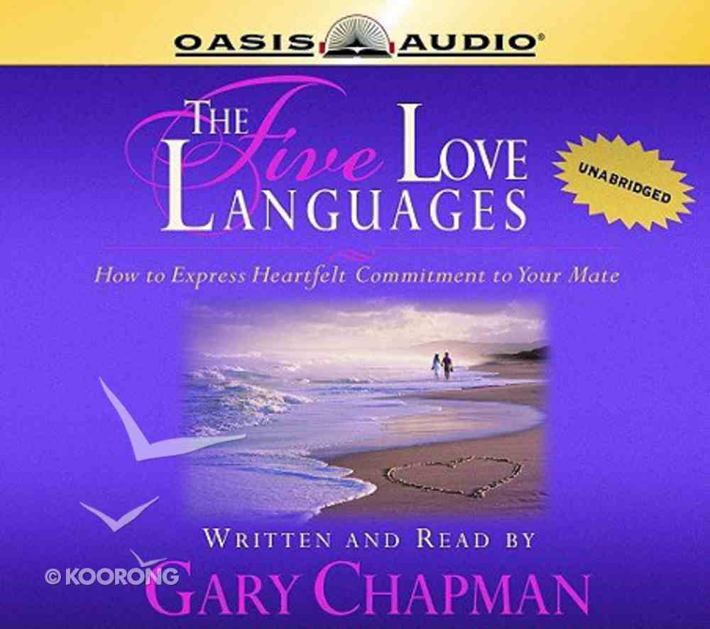 The Five Love Languages (Unabridged, 5 Cds) CD