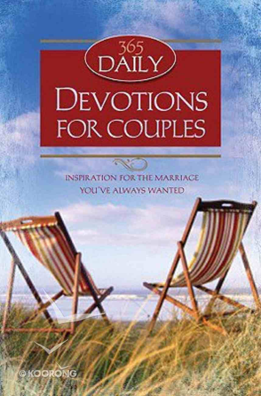 Daily Devotions For Couples Mass Market