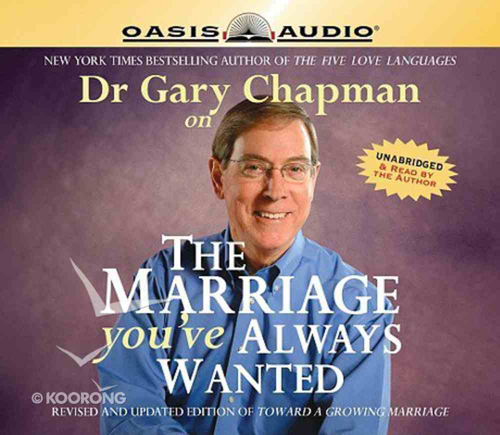 The Marriage You've Always Wanted CD
