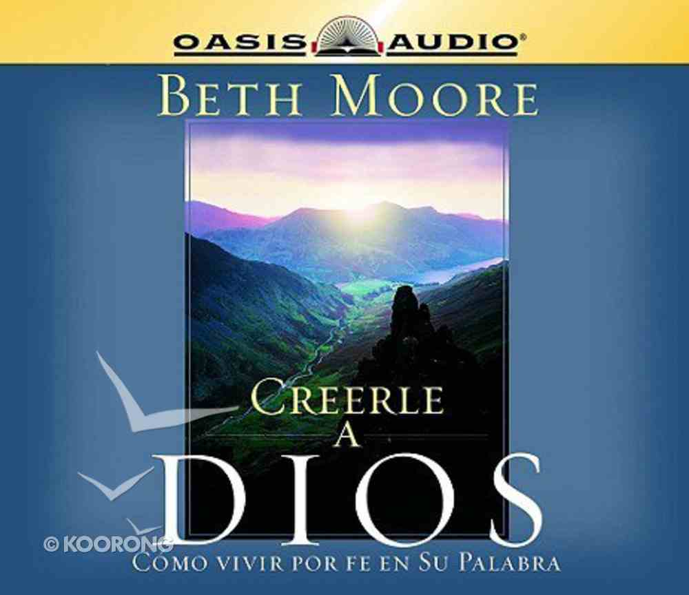 Creerle a Dios (Believing God) CD