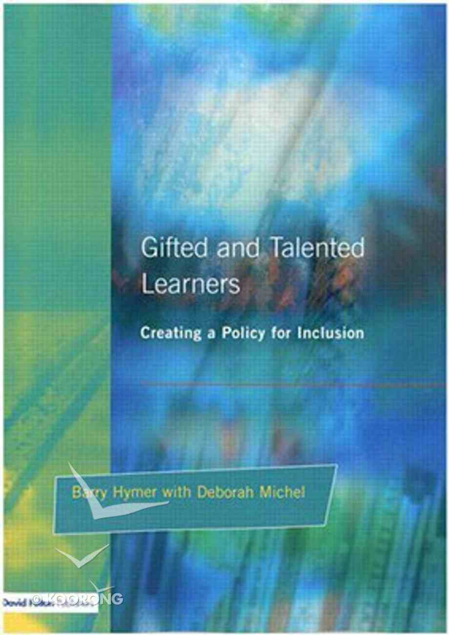 Gifted and Talented Pupils Paperback