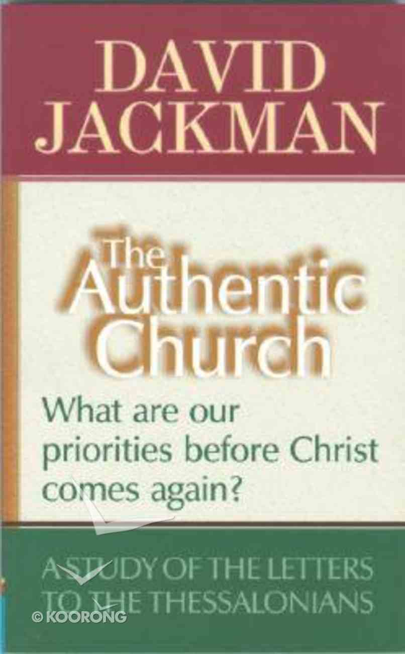 Authentic Church ,The Paperback