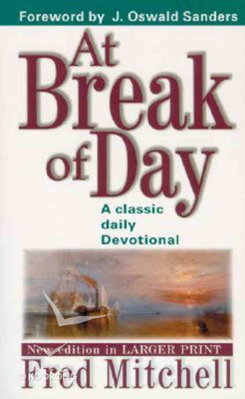 At Break of Day Paperback