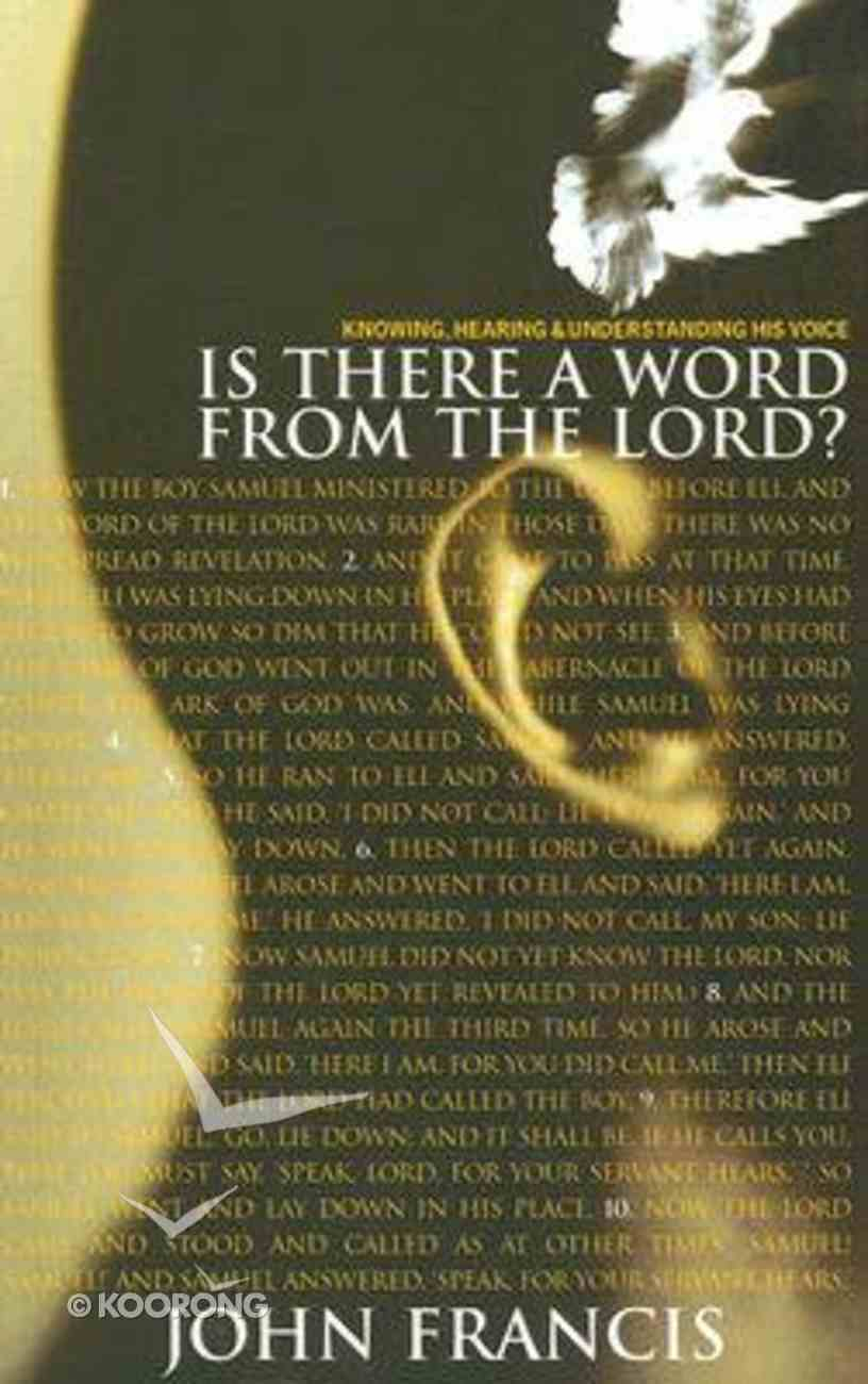 Is There a Word From the Lord? Paperback