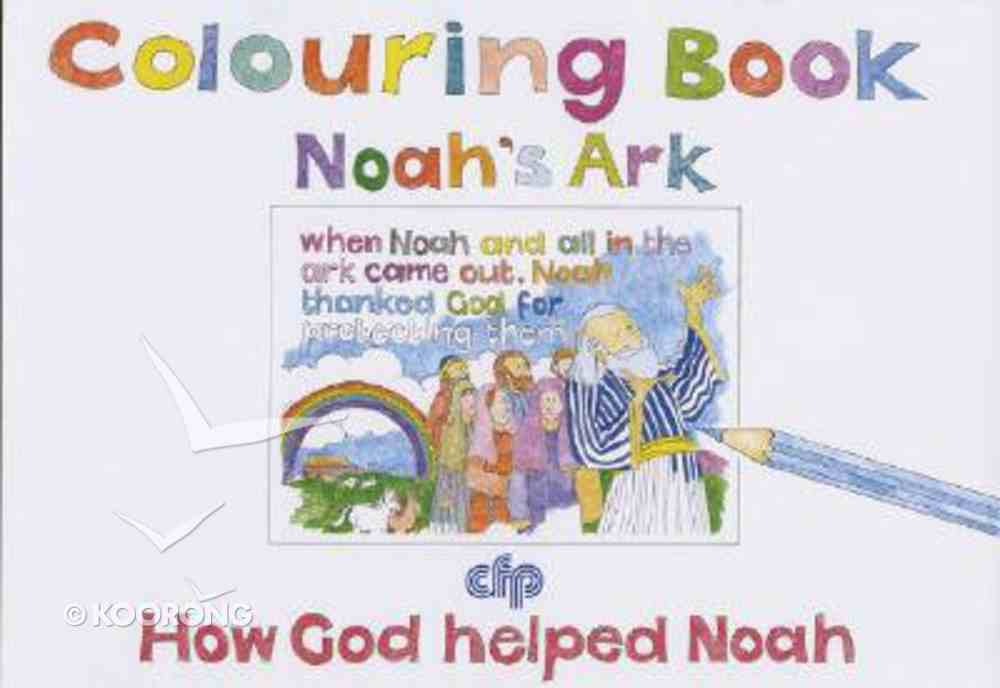 Colouring Book: Noah's Ark Paperback