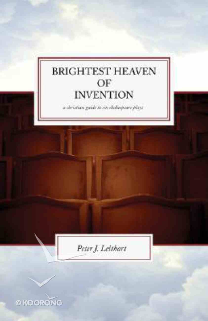 Brightest Heaven of Intention Paperback