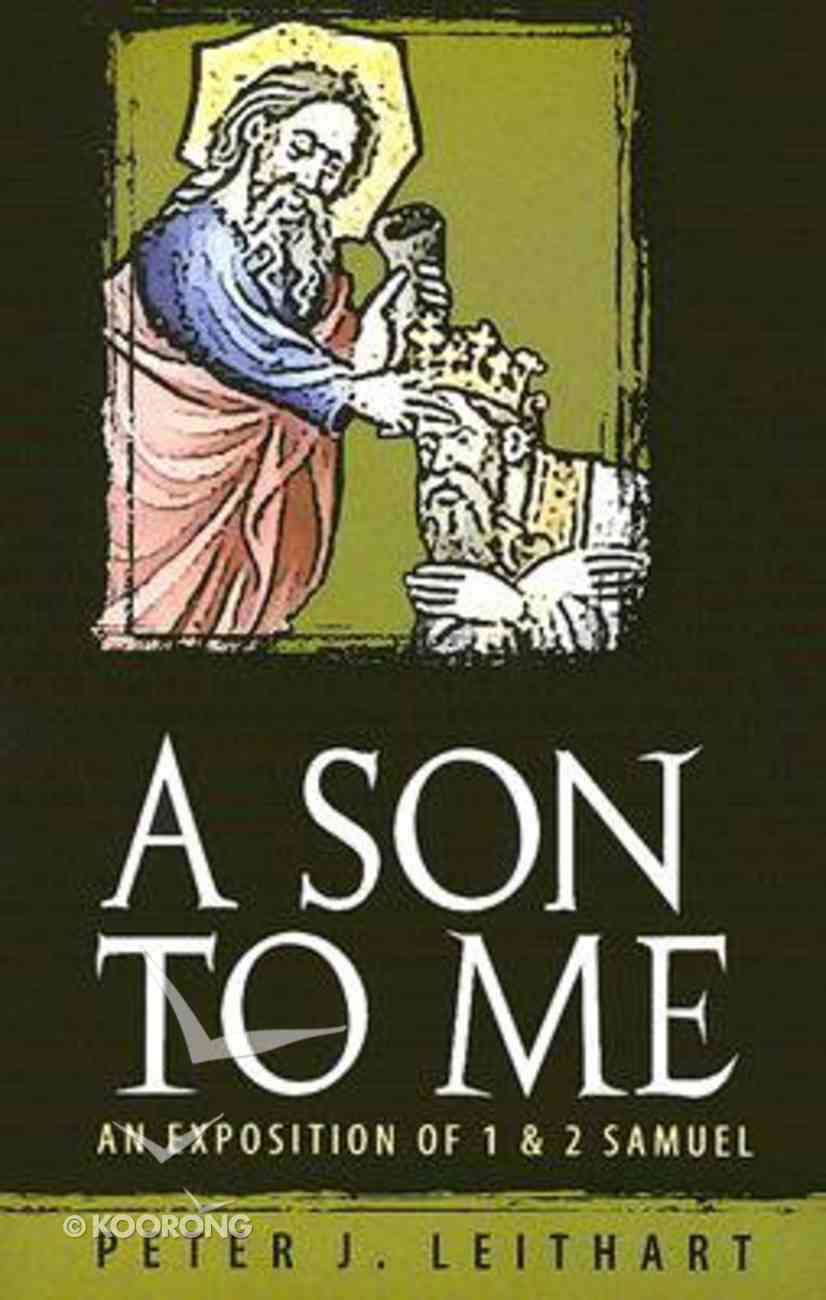 A Son to Me Paperback