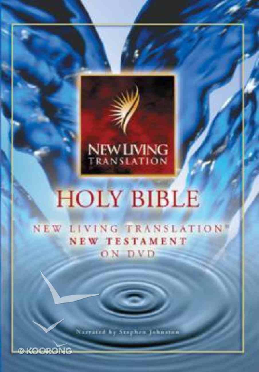 NLT Bible on DVD (1st Ed.) (New Testament) DVD