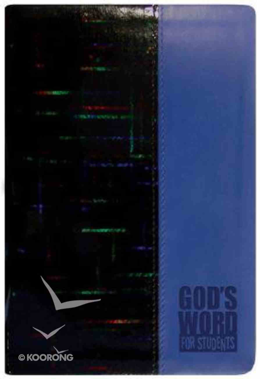 God's Word For Students Blue Prism (Holographic) Imitation Leather