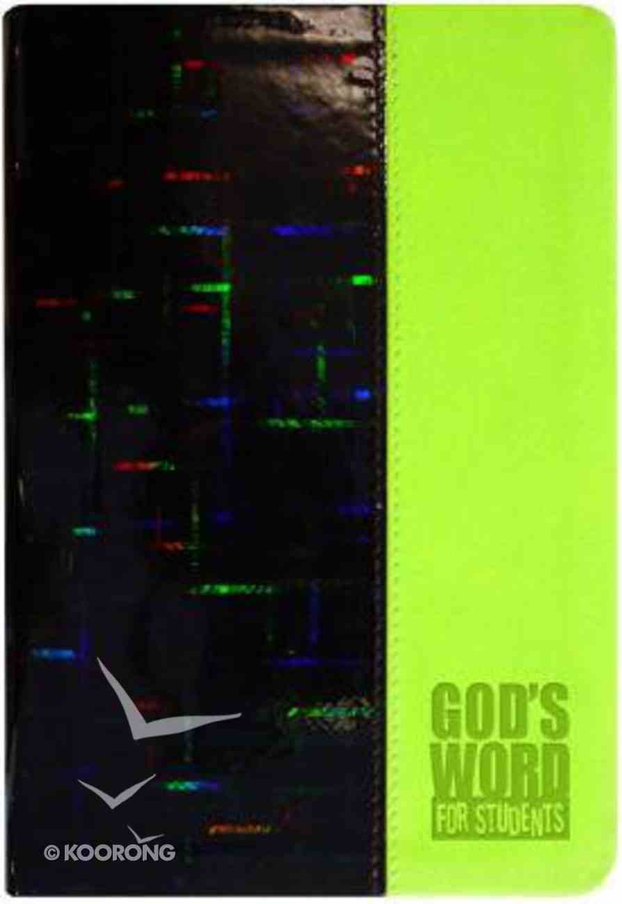 God's Word For Students Lime Prism (Holographic) Imitation Leather