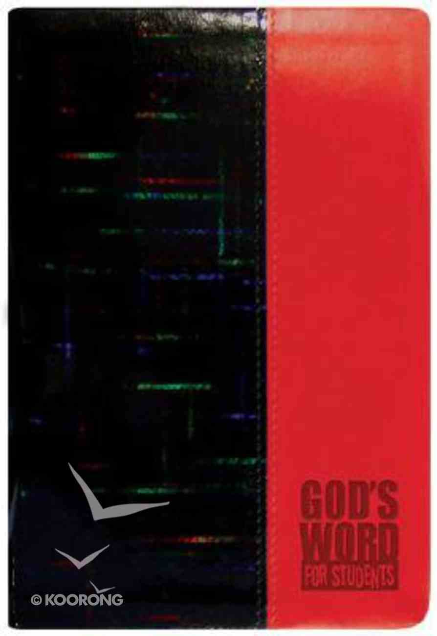 God's Word For Students Red Prism (Holographic) Imitation Leather