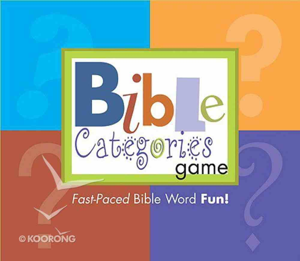 Bible Categories Game