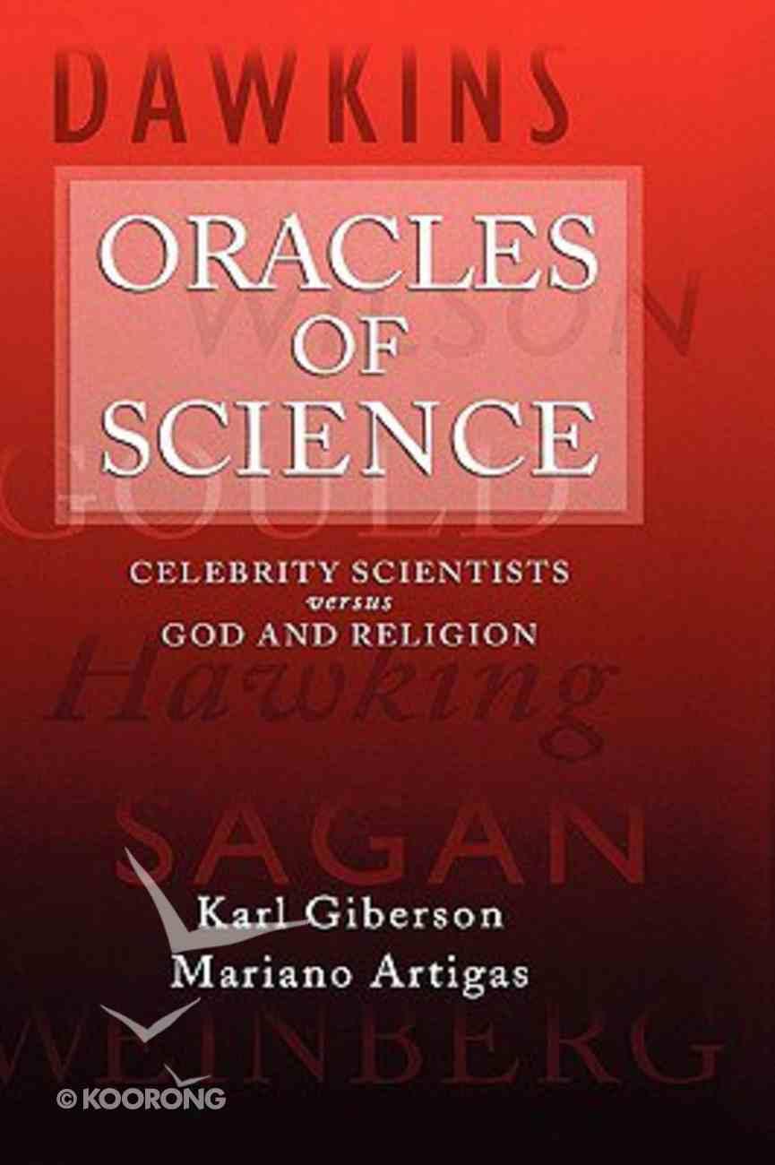 Oracles of Science Hardback