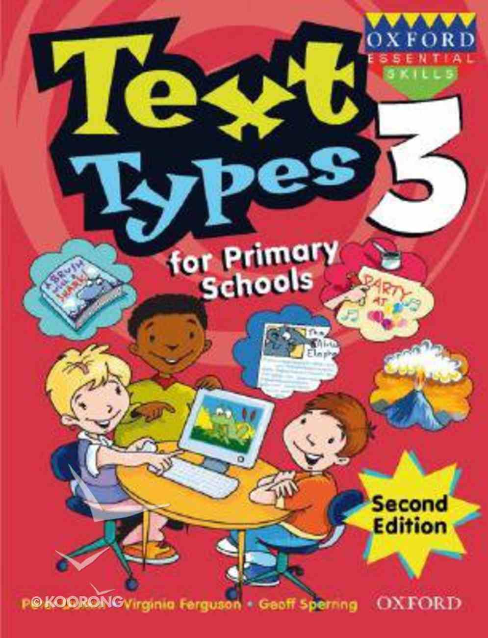 Text Types For Primary Schools Book Three (2nd Edition) Paperback