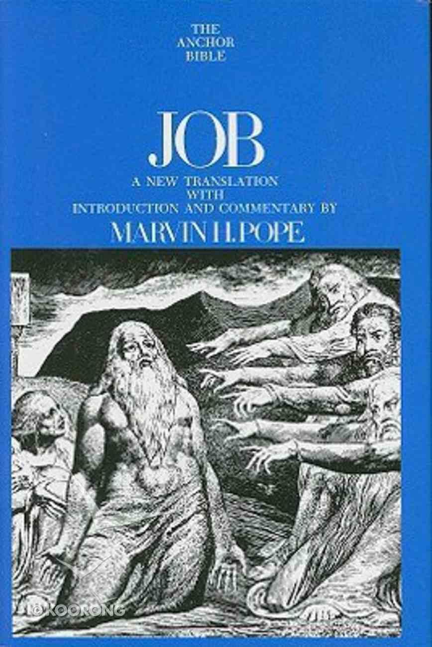 Job (Anchor Yale Bible Commentaries Series) Hardback