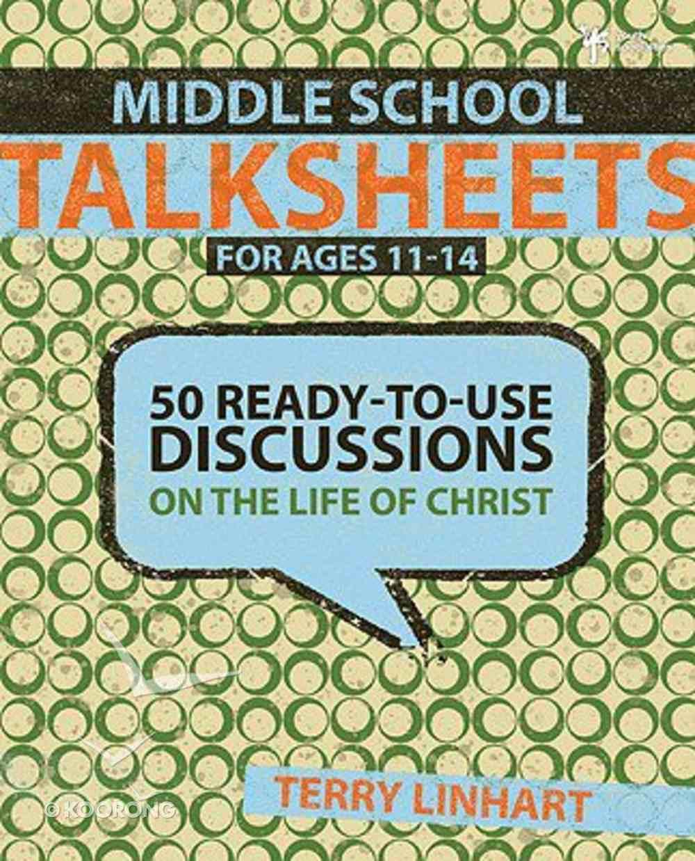 Middle School Talksheets Paperback
