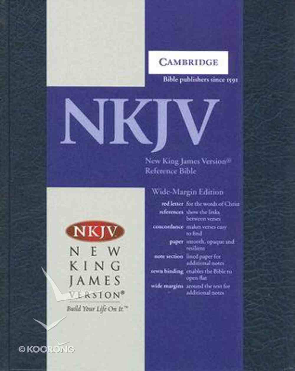 NKJV Wide Margin Reference (Red Letter Edition) Hardback