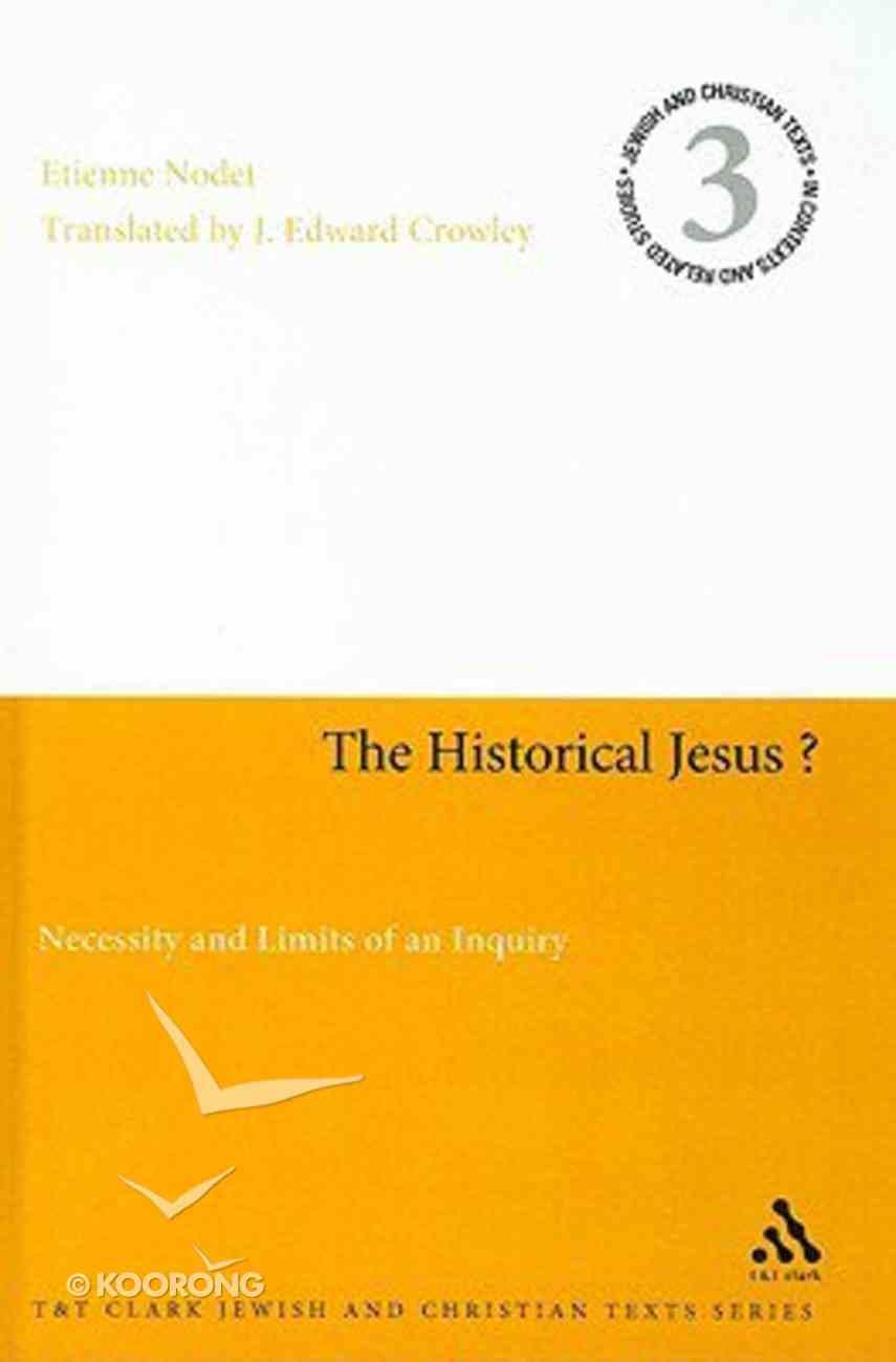 The Historical Jesus? Hardback