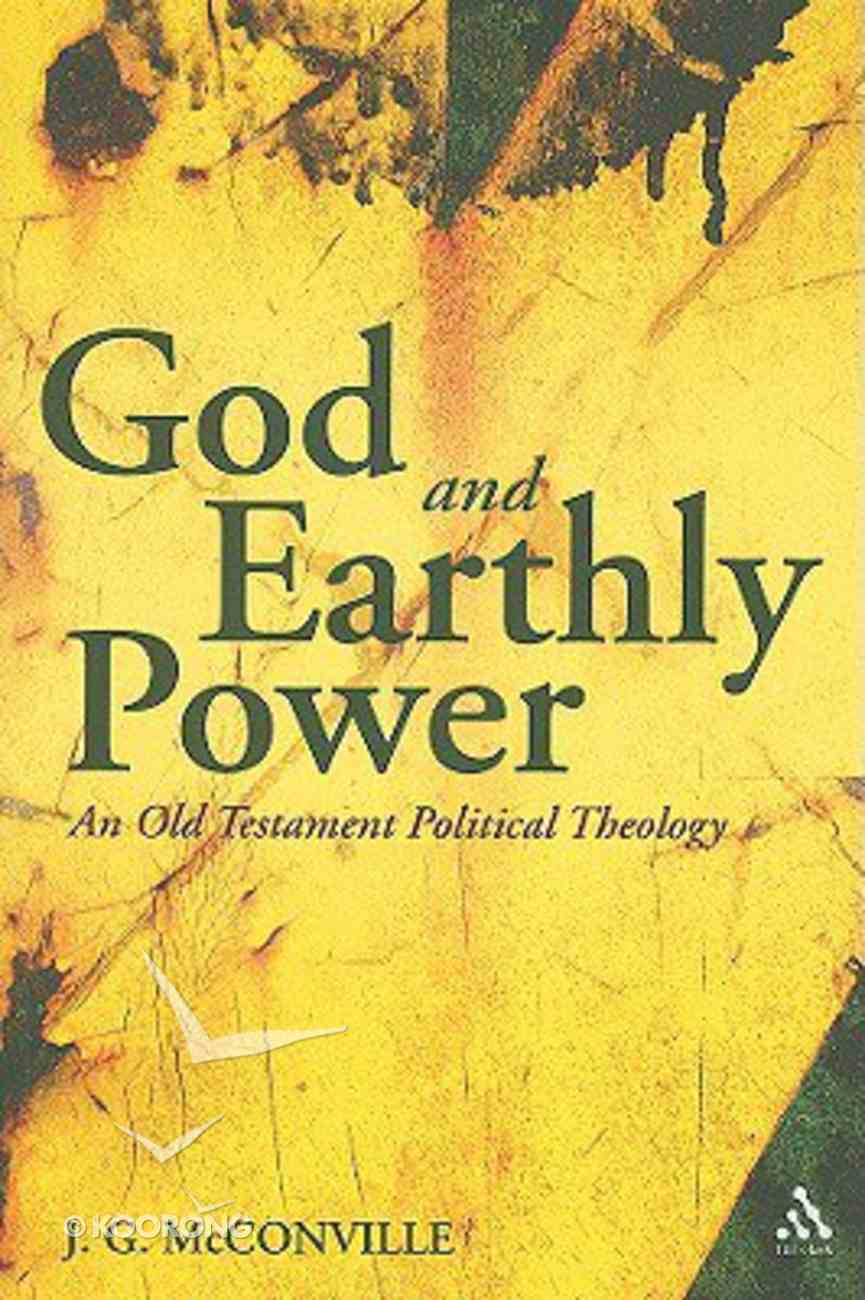 God and Earthly Power Paperback