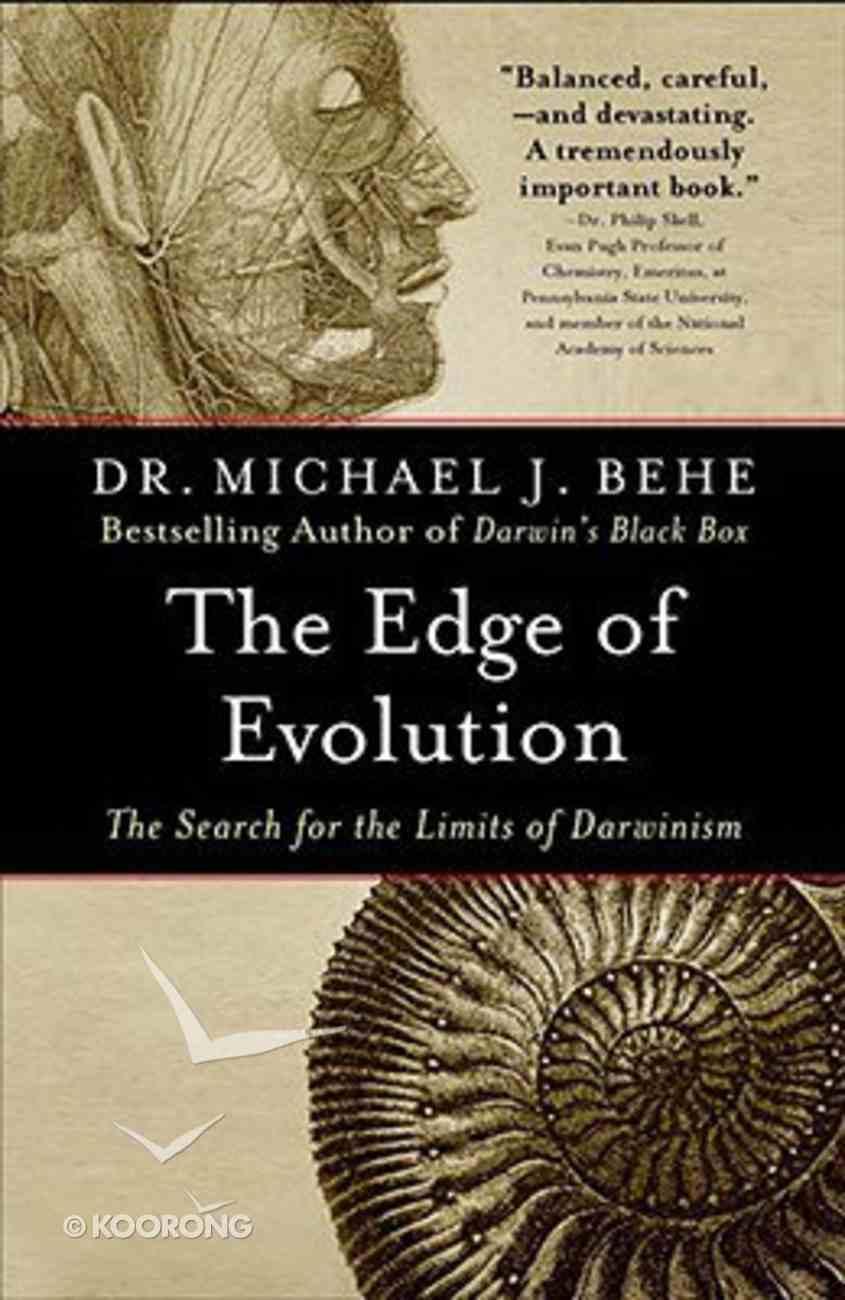 The Edge of Evolution Paperback