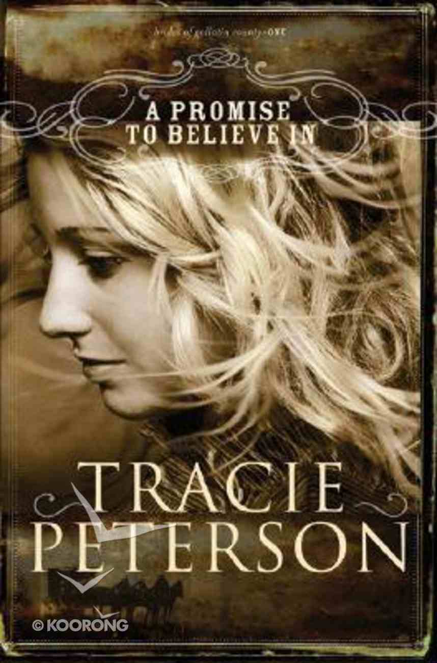 A Promise to Believe in (Large Print) (#01 in Brides Of Gallatin County Series) Paperback