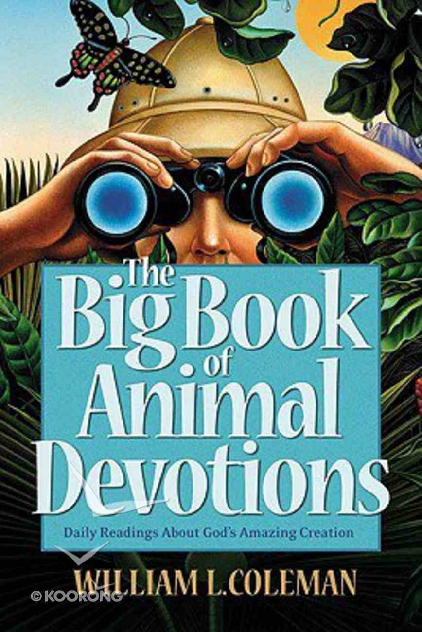 The Big Book of Animal Devotions Paperback
