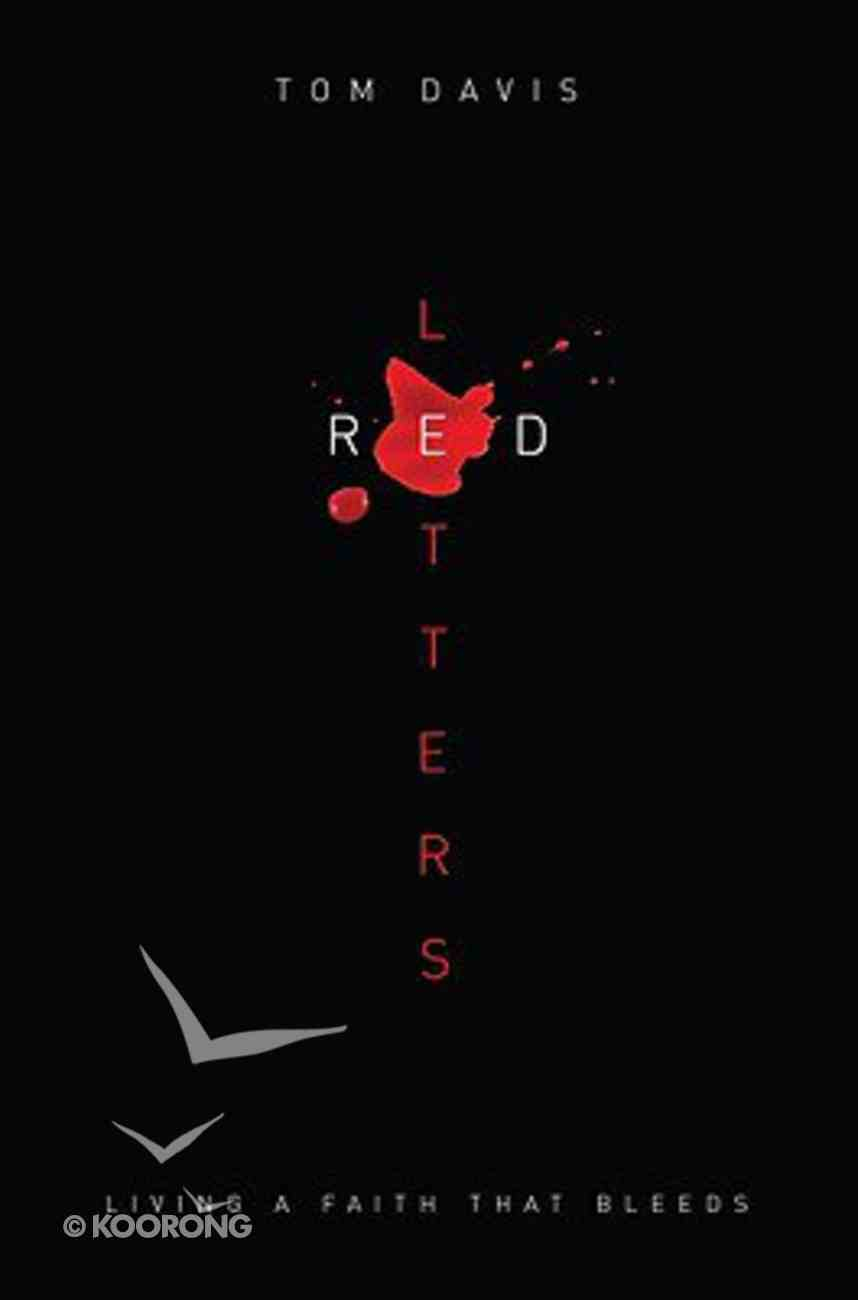 Red Letters Paperback