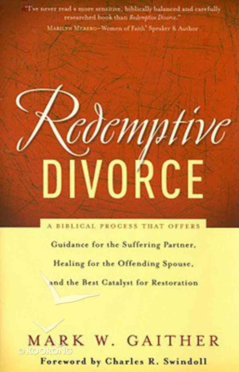 Redemptive Divorce Paperback