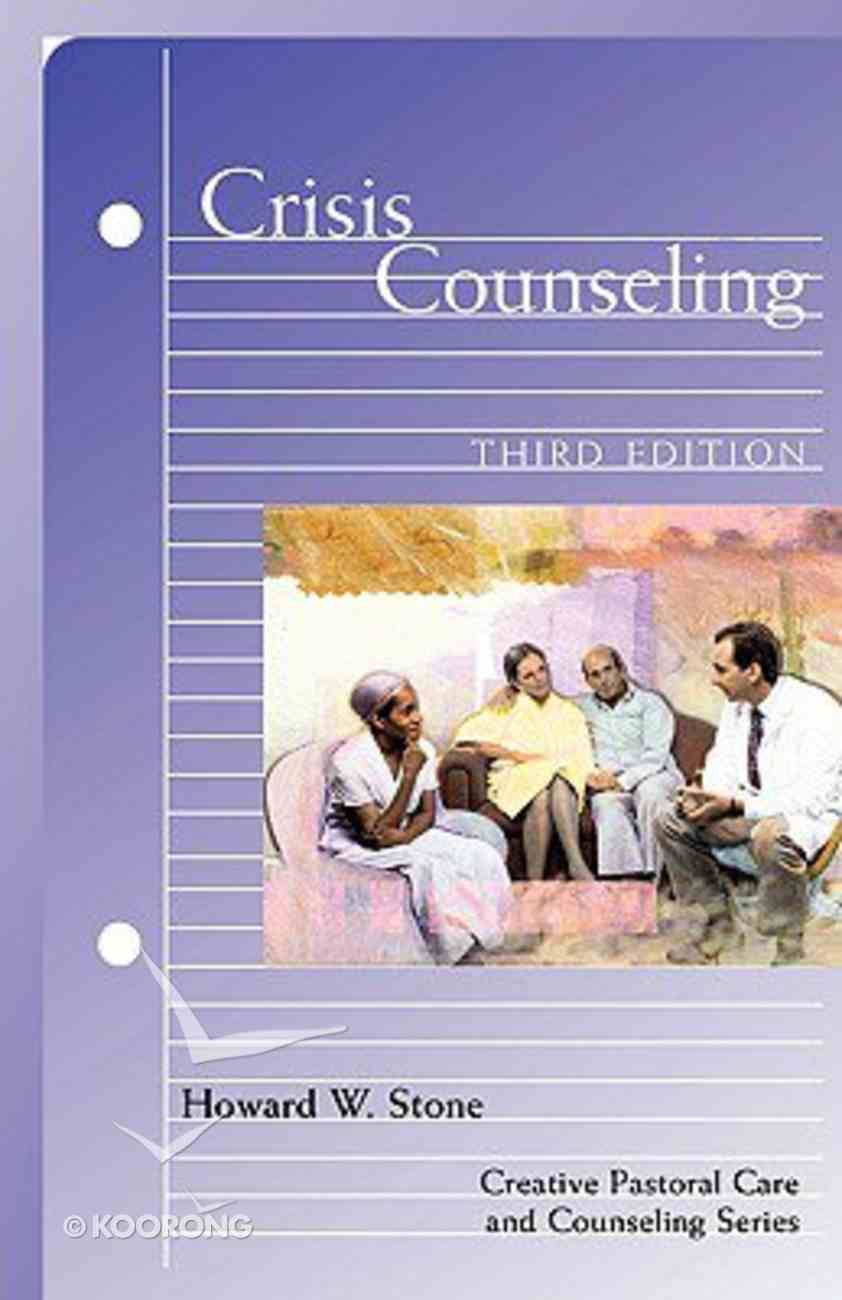 Crisis Counselling (3rd Edition) Paperback