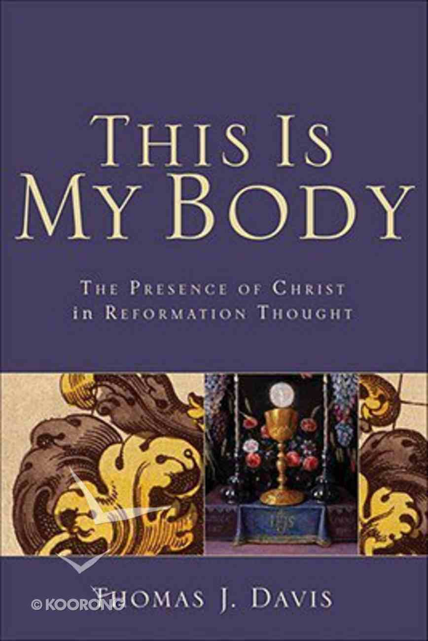 This is My Body Paperback